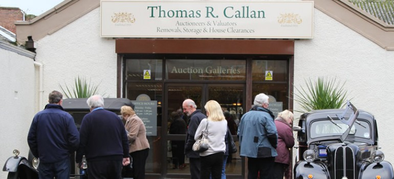 Auction Galleries, Smith Street, Ayr.