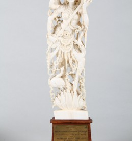 Indian carved ivory Deity, Sold £1,100.jpg