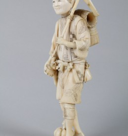 Japanese carved ivory Okimono. Sold £290.jpg
