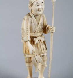 Japanese carved ivory Okimono.Sold £290.jpg