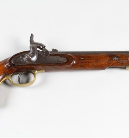 Mid Victorian Tower Lancer's percussion pistol, Sold £1500.jpg