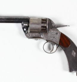 Webley six shot 120 bore revolver, Sold £2800.jpg