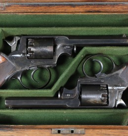 Pair Beaumont Adams 120 bore percussion revolvers. sold £3000.jpg