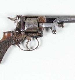 38 rim fire 5 shot Webley revolver. Sold £360.jpg
