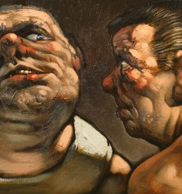 Peter Howson Oil on Canvas, sold £3600.jpg