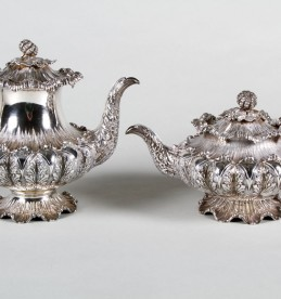 William IV four piece silver tea service, Sold £2,600.jpg