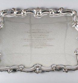 Fine Edwardian silver double handled tray, Sold £1400.jpg