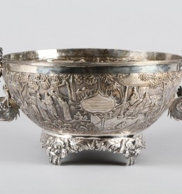 Magnificent 19th Century Shanghai silver bowl, Sold £18500.jpg